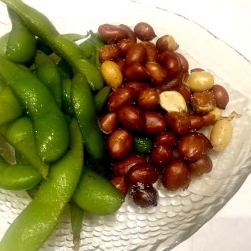 Peanuts and Edamame at Bite of Hong Kong