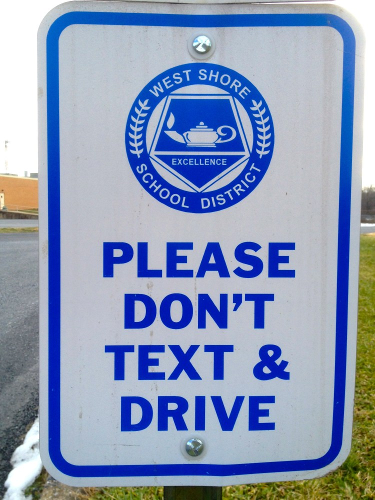 No Texting While Driving Campaign (2/2)