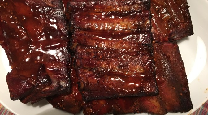 Spareribs in 3-2-1 Methode