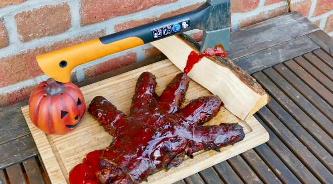 Zombie Hand // Halloween BBQ Special