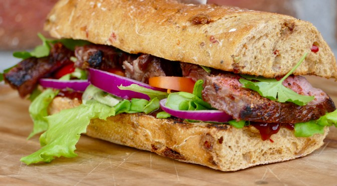 Steak Sandwich // Perfektion!