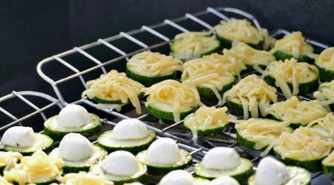 Zucchini Käsechips