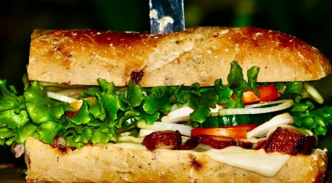 Duroc Tomahawk Steak Sandwich