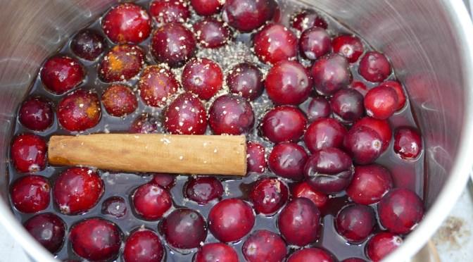 Cranberry Zimt Chutney