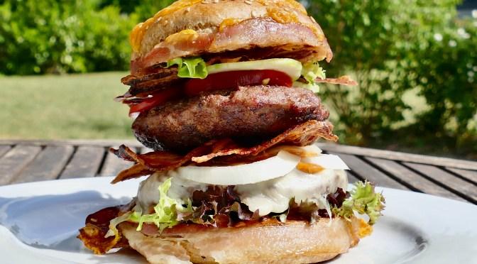 BURGERN 150.000er Bacon Satt!