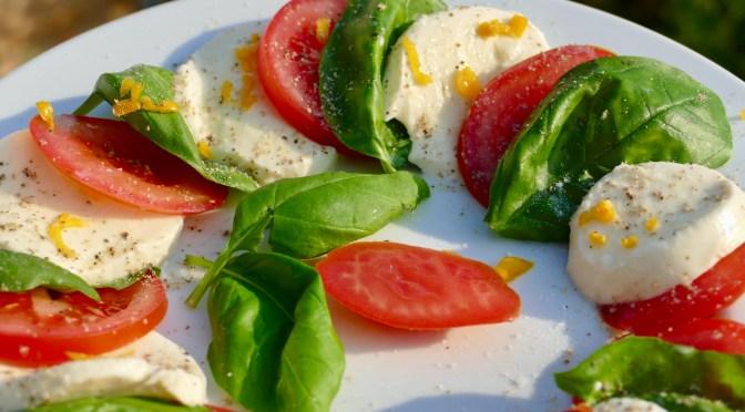 Scharfe Tomate Mozzarella