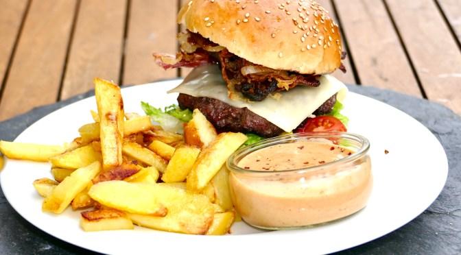 Black Angus Burger! Mega Burger Brötchen Rezept!