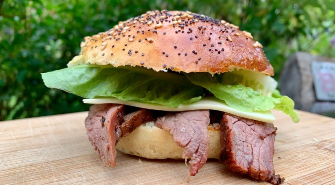 Flank Steak Burger