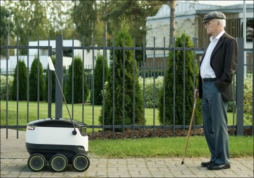 %name New robots set to deliver goods at Homes