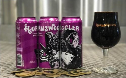 Hornswoggler's new Oreo-infused beer