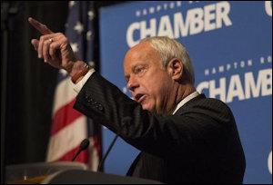Mayor Will Sessoms announces a $220 million Virginia Beach arena deal
