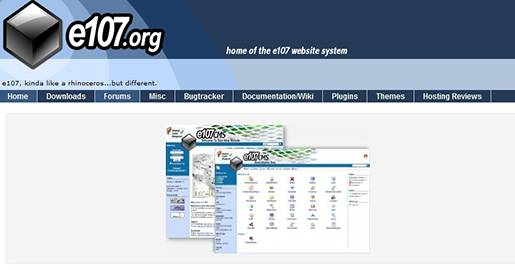 e107 is a CMS written in PHP and using the MySQL database system for content storage. It is completely free, totally customisable and in constant development.