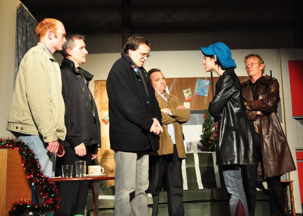 The BacStage (Bluntisham and Colne Stage Group) production of 'Breezeblock Park' by Willy Russell, staged in October 2010.