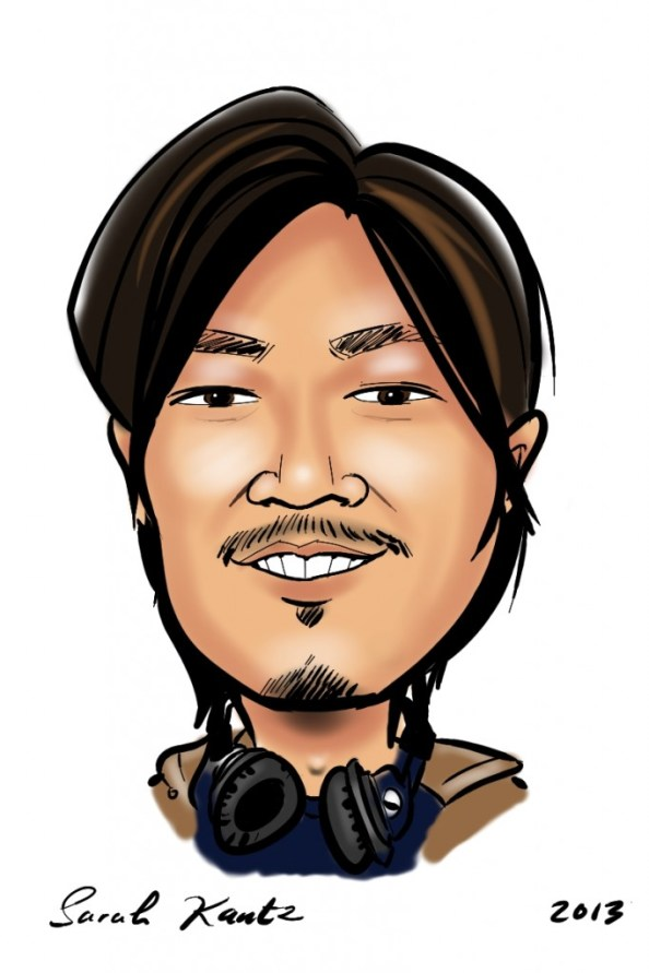 Arthit caricature from ICANN 46