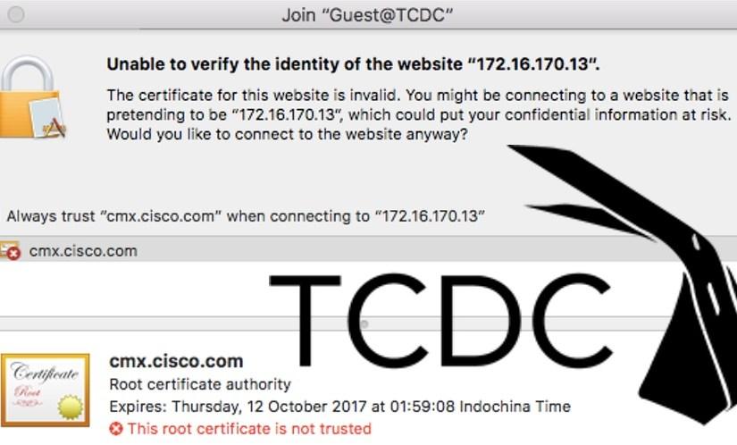 ยากและไม่ค่อยปลอดภัย Facebook Wi-Fi #FAIL @ ห้องสมุด TCDC