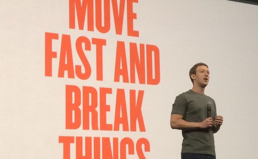 อุตสาหกรรมไอทีล้มเหลวที่จะปกป้องผู้ใช้ เพราะเรา move fast and break things?