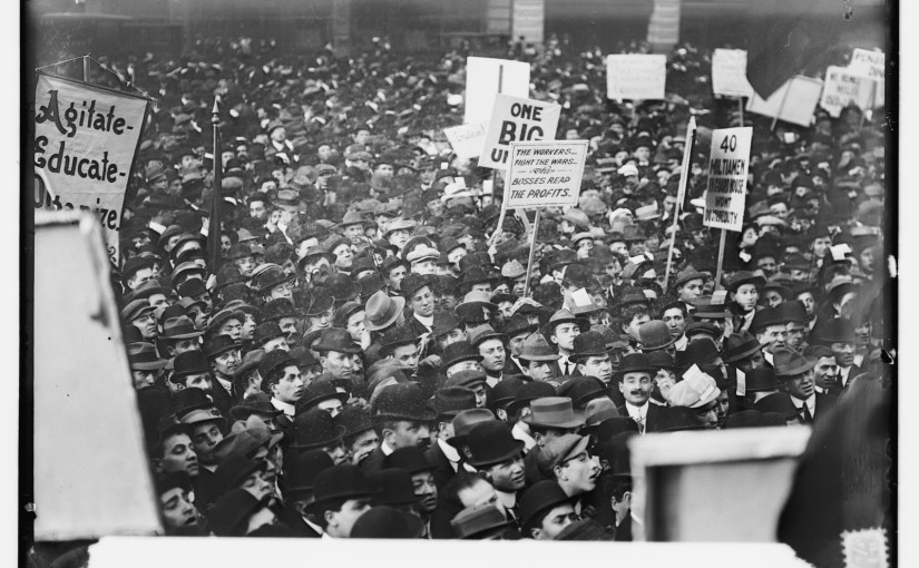 Socialists in Union Square, N.Y.C., 1 May 1912