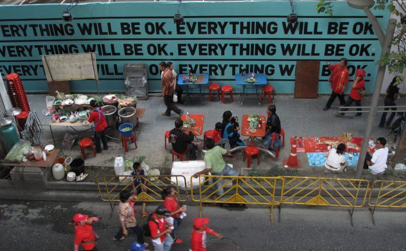 """""""ทุกอย่างจะโอเค"""" @ CTW 19 พ.ย. 2553"""