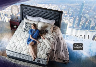 Elite Spring Bed - The Royale Collection