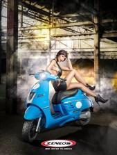 Zeneos Tires 2017 Images  Milano   Peugeot Django