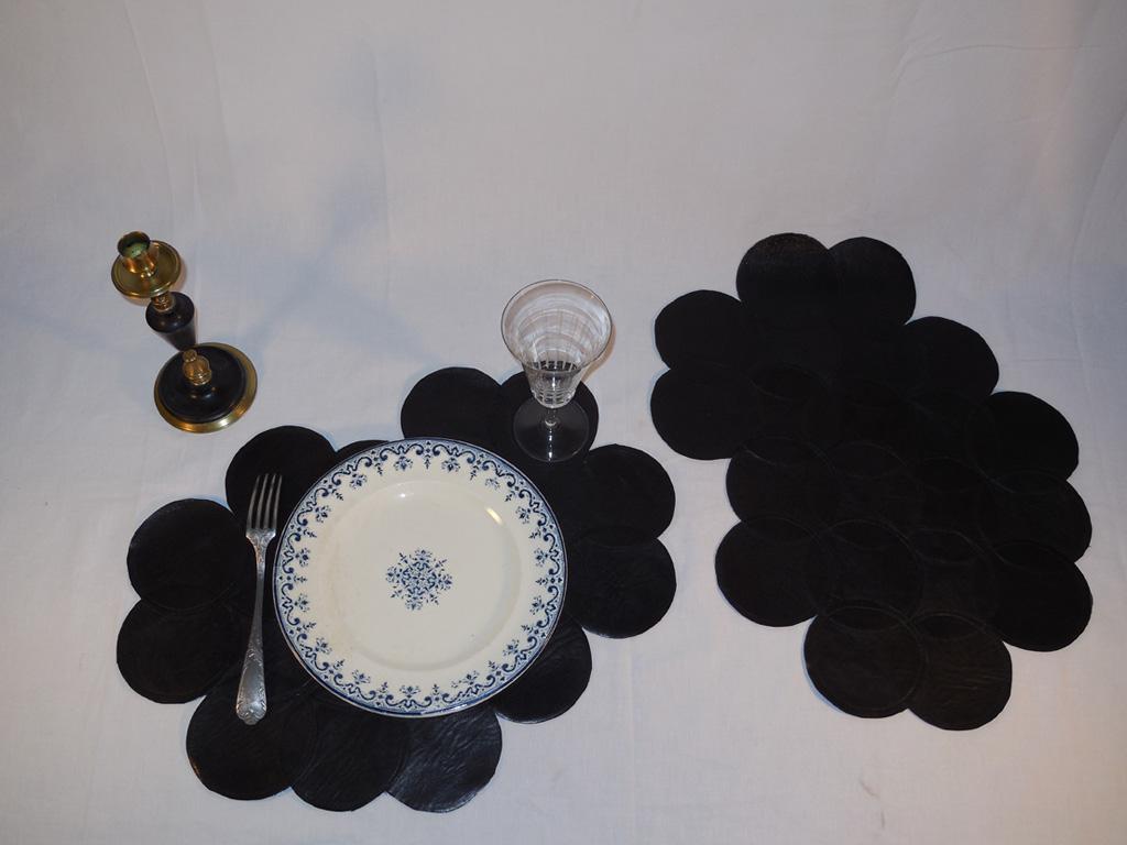 set de table ou centre de table pour une d co chic b a d. Black Bedroom Furniture Sets. Home Design Ideas