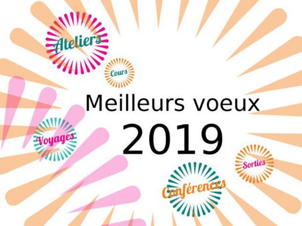 Carte de voeux 2019 pour l'Université Pour Tous du Tarn