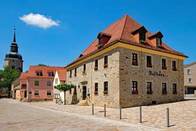 Das Rathaus der Goethestadt Bad Lauchstädt