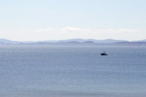 View to the Islands of Rhona and Skye