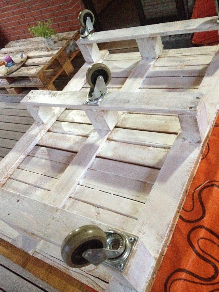Mesa pintada parte inferior