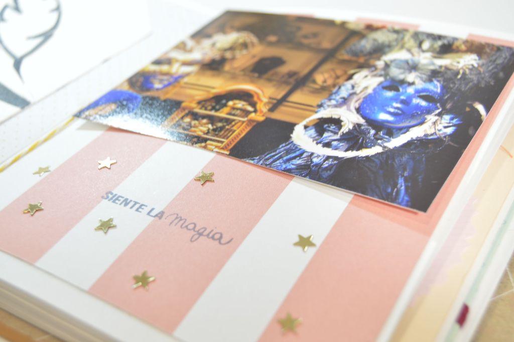 detalle mascaras colores azules