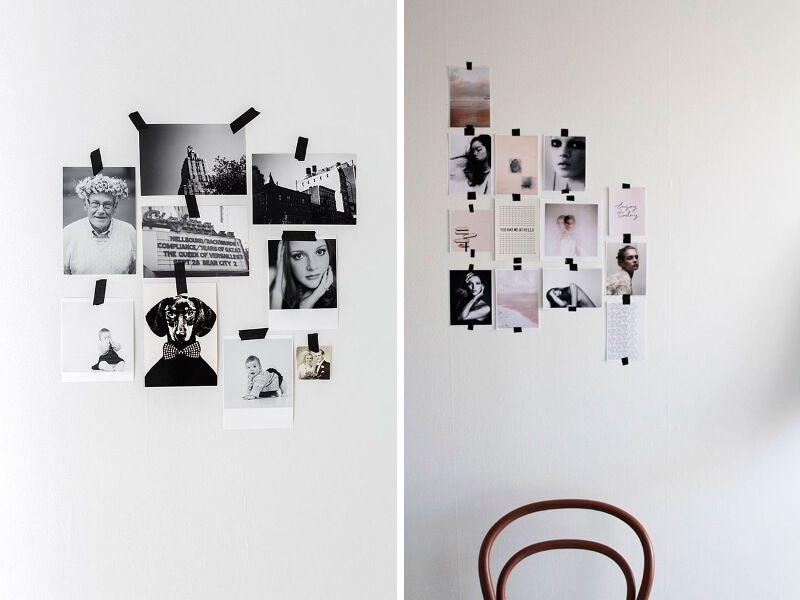 Cuadros enmarcados con washi tape 2
