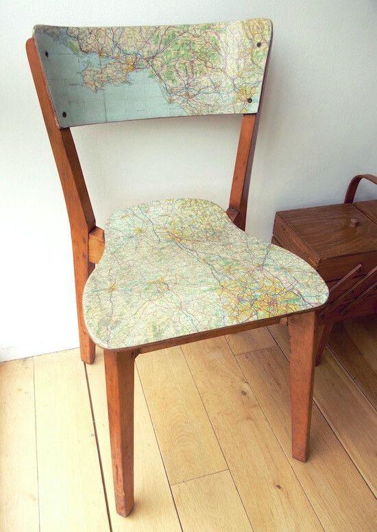 Renovar tus sillas decopatch