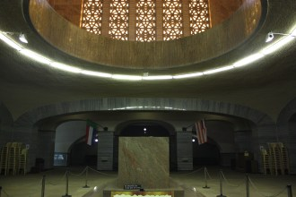 Secret society crypt or thinly-disguised UFO? You decide.