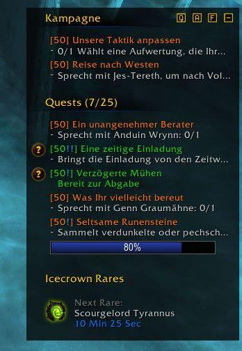 Wow Rare Spawn Addon : spawn, addon, Shadowlands, PrePatch:, Eiskrone, Anzeige, Addons, World, Warcraft