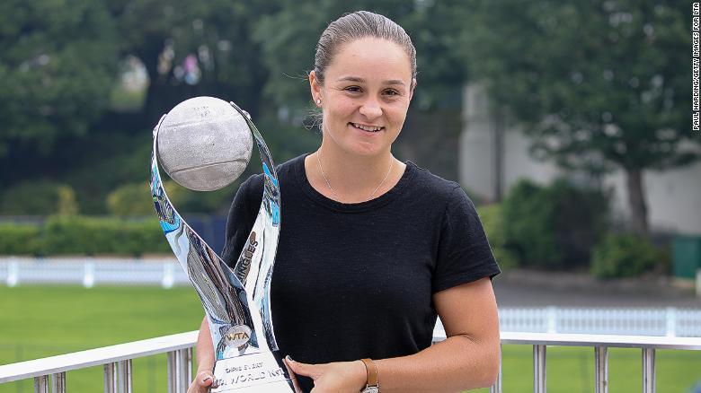 Ashleigh Barty – living in the moment