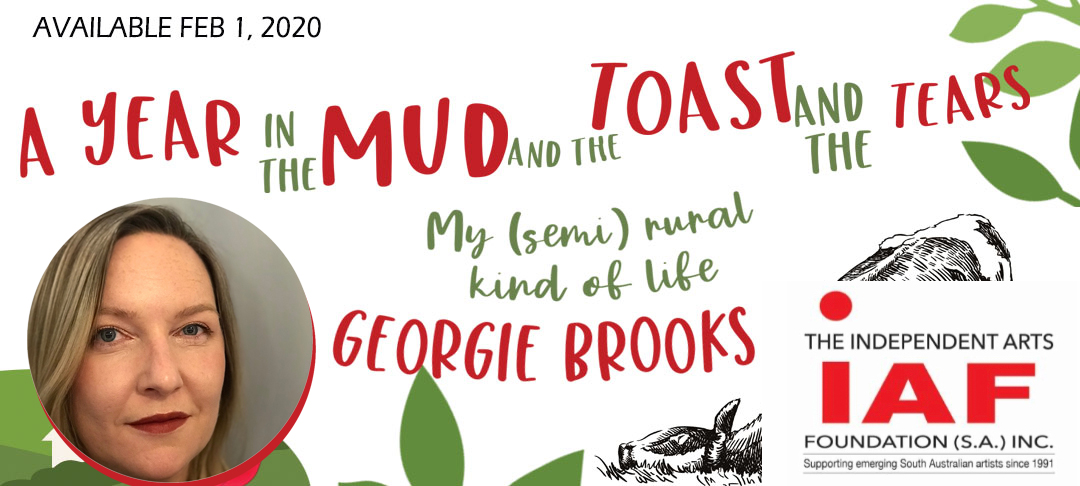 Author Georgie Brooks to speak at IAF  literary event in Adelaide – event cancelled