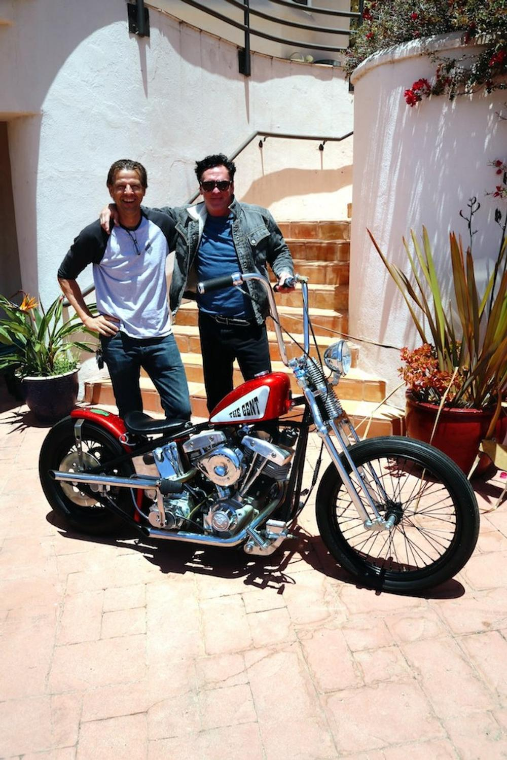 The Gent Built By Movie Bikes Of USA