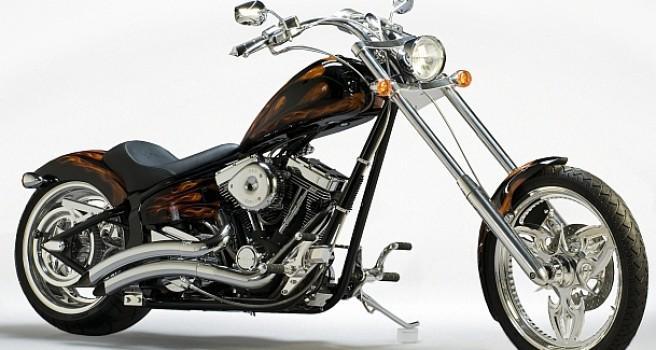 Warlord built by Saxon Motorcycles of USA