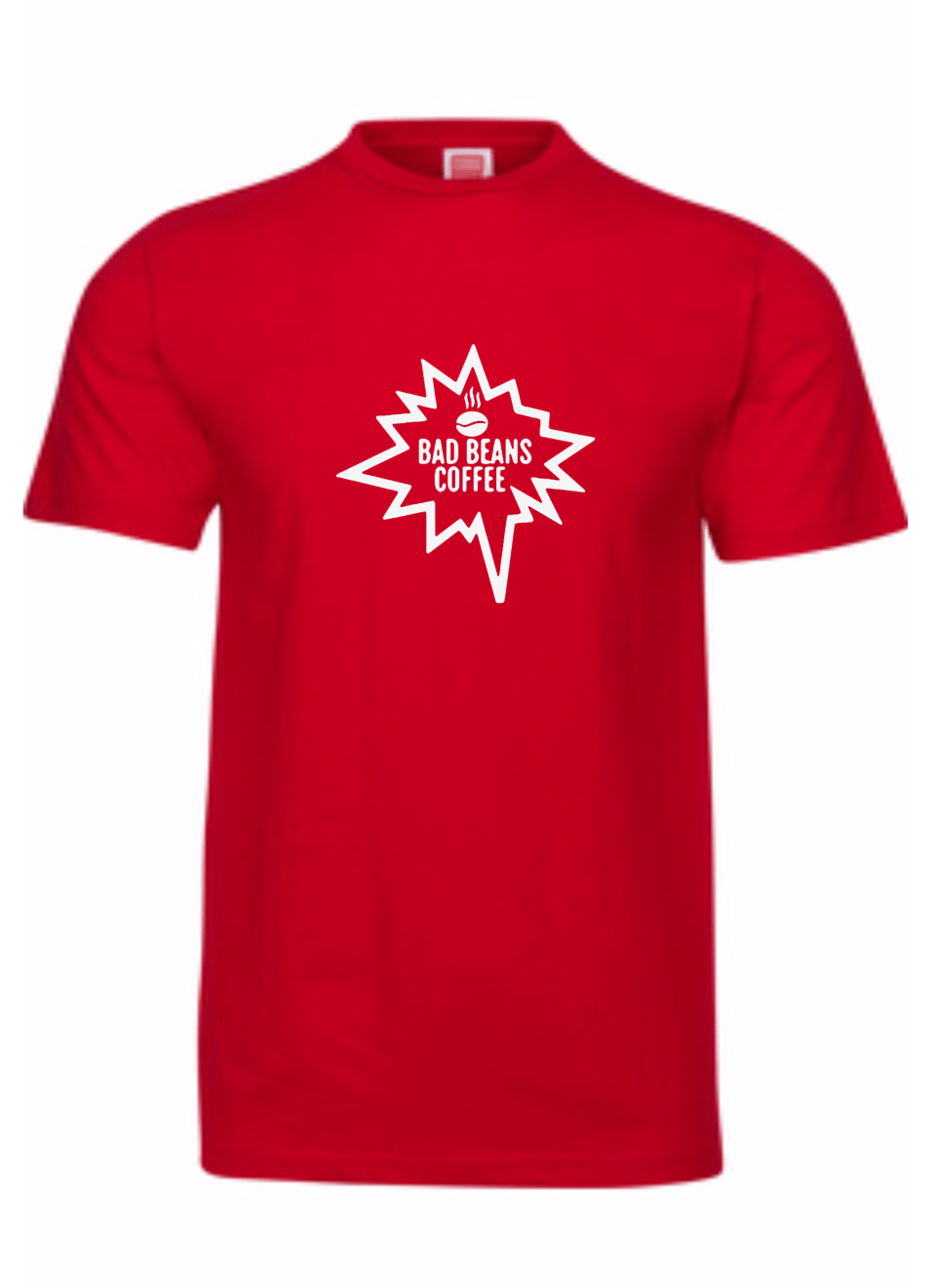 Bad Beans Tee Red/White