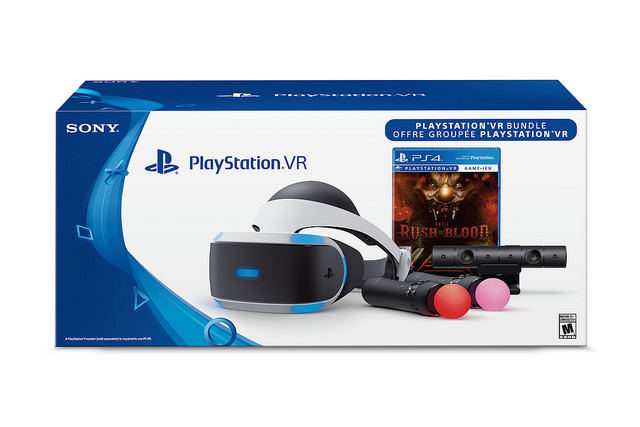 The PlayStation VR Until Dawn: Rush of Blood bundle will only be sold at GameStop and EB Games.