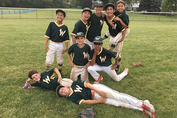 The Warren Park Warriors, who are raising money to go to Cooperstown, NY.