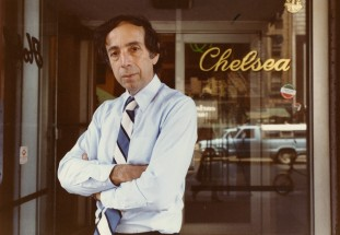 Stanley Bard part-owner and manager of Manhattan's legendary Chelsea Hotel