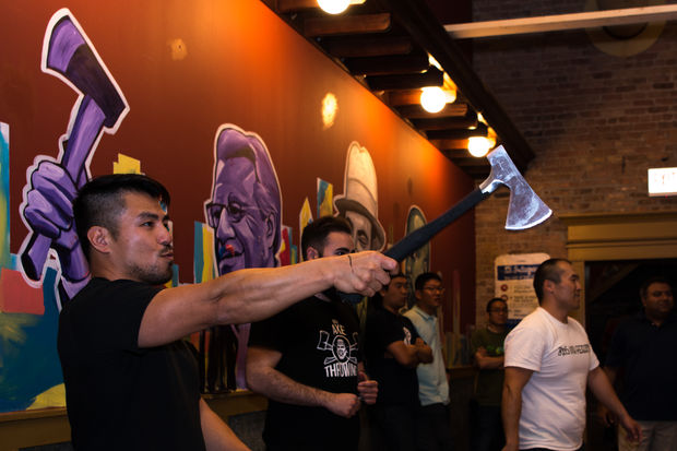 Given the success of its West Loop location, Bad Axe Throwing plans to open a spot in Lakeview, at 2828 N. Clark St., in December.