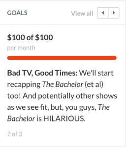 bad books, good times patreon goal reached