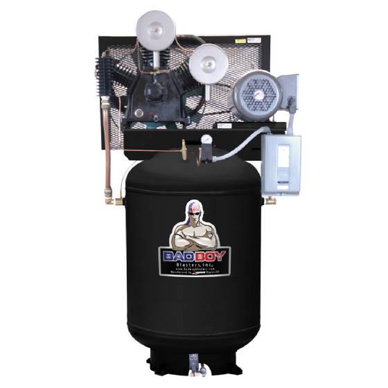 SANDBLASTING 10HP Compressor  BADBOY Blasters