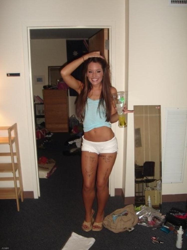 Hot college party