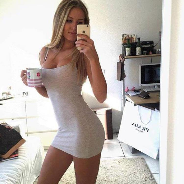 Wakeup Call with Badchix in Thight Dresses