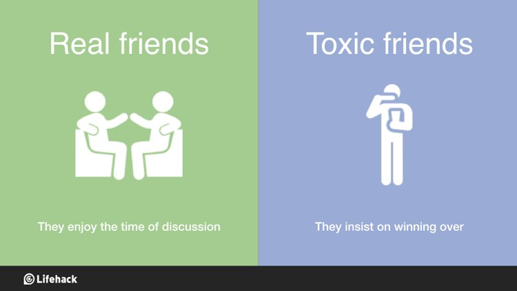 Ways To Differentiate Real Friends And Toxic Friends seen on badchix.com