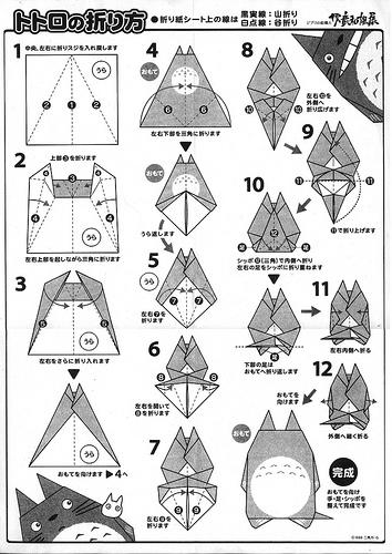 Con origami (o papiroflexia) se pueden hacer figuras