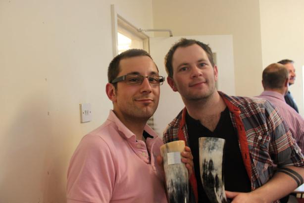 Mark Wildman and Gareth Dicks